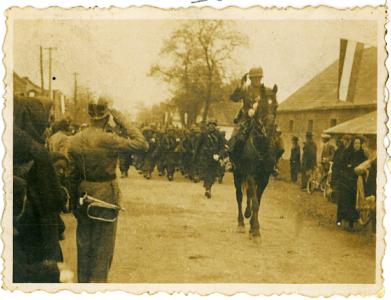Tornaalja - bevonulás 1938