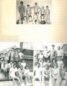 Edzés előtt és edzés után 1983