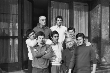 BALATONLELLEI  EDZŐTÁBOR 1970-1971