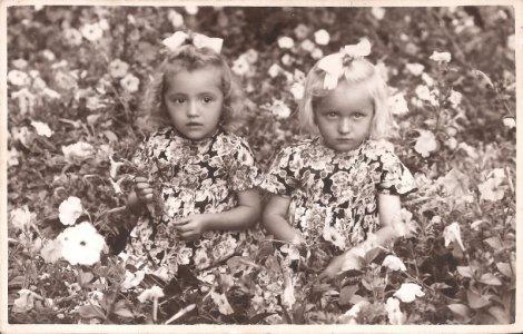Szász Mária és Szász Eszter, 1944