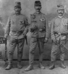 Gyulai katonák a háború előtt - 1914