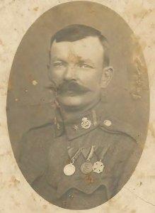 Ismeretlen gyulai katona - 1914