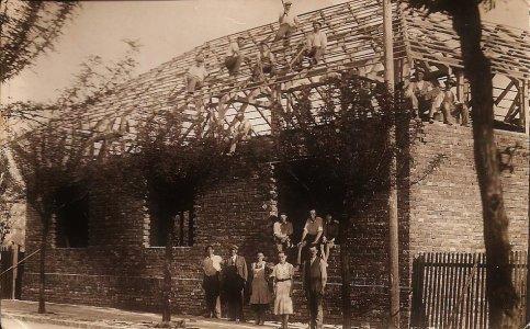 Mészáros-ház építése - 1938