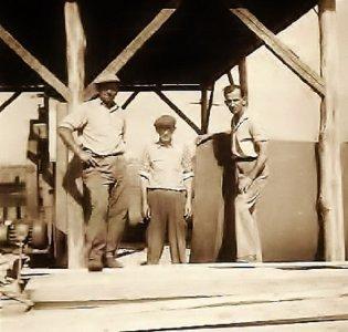 Városerdőben favázas ház építése - 1941