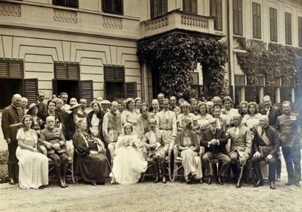 Esküvő az Almásy-kastélyban 1938-ban