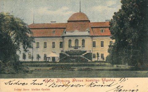 Harruckern-Wenckheim-Almásy-kastély - 1900-as évek