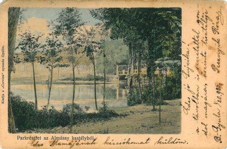 Harruckern-Wenckheim-Almásy-kastély - 1905