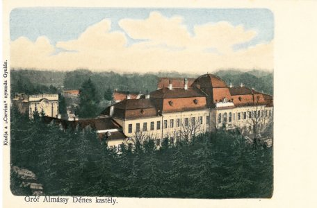 Harruckern-Wenckheim-Almásy-kastély - 1910-es évek