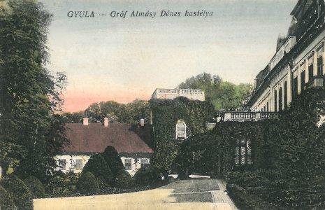 Harruckern-Wenckheim-Almásy-kastély - 1910-es évek vége
