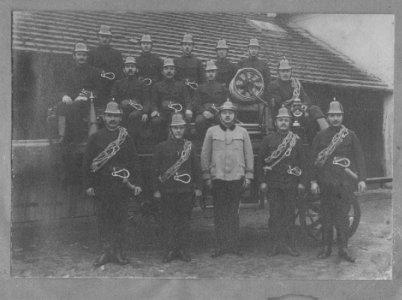 Gyulai önkéntes tűzoltók az 1920-as években
