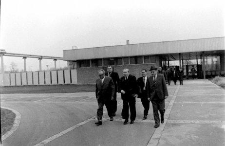 Miniszteri látogatás a Húskombinátba - 1979