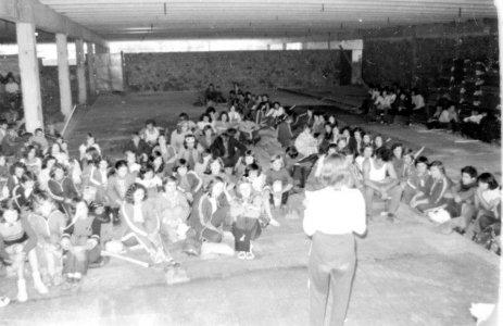 A Húskombinát építése - 1976