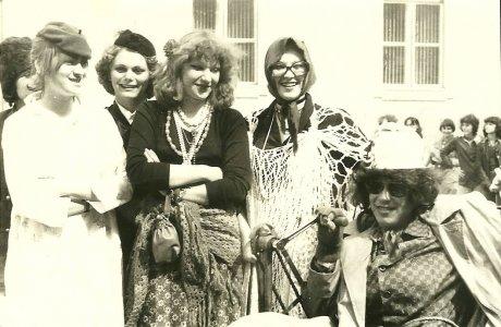 Bolondballagás az Erkel Ferenc Gimnáziumban - 1979