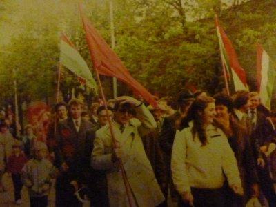 Felvonulás május 1-én - 1970-es évek