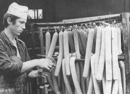 A Húsipari Vállalat termékei - 1960-as évek