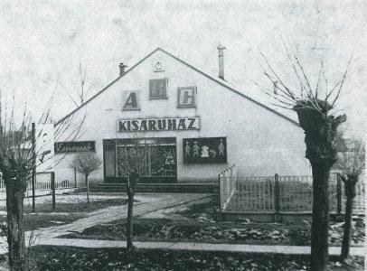 Máriafalvi áruház - 1960-as évek vége