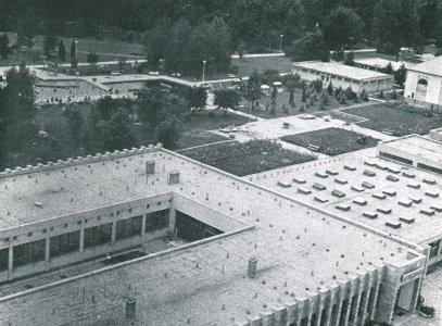 A Várfürdő épületei - 1960-as évek