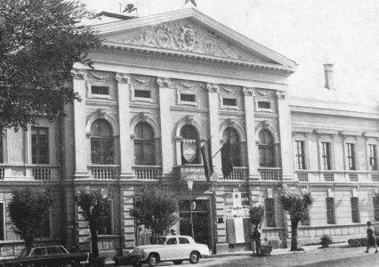 A Városi Tanács épülete - 1960-as évek vége