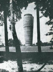 Víztorony a Népkertben - 1960-as évek vége
