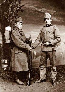 Ismeretlen gyulai katonák - 1914-1918