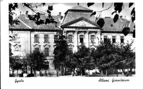 Állami Gimnázium - 1948