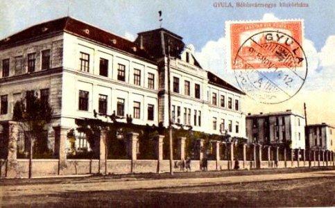 Békésvármegye Közhórháza - 1916