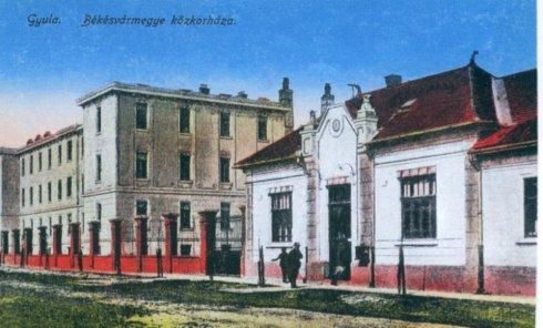 Békésvármegye Közhórháza - 1918