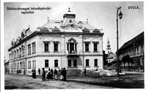 Békésvármegye Takarékpénztár - 1931