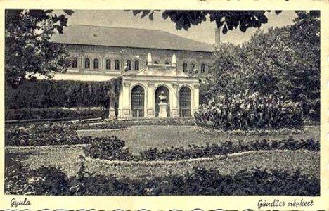 Gyulai Népkert - 1906