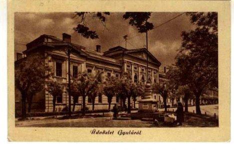 Gyulai képeslap 1930-ból