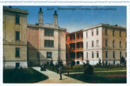 Gyulai Közkórház sebészete 1916