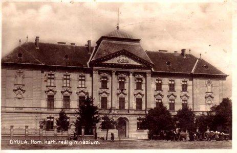 Gyulai Római Katolikus Realgimnázium - 1927