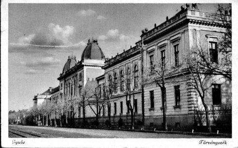 Gyulai Törvényszék - 1948