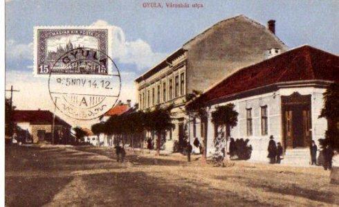 Városház utca - 1915