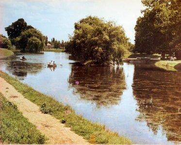 Vár előtti csónakázó tó - 1970-es évek