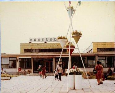 Várfürdő bejárata - 1970-es évek