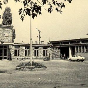 Gyulai vasútállomás - 1971