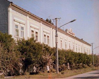 Mai Harruckern János Középiskola épülete - 1970-es évek