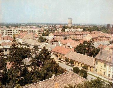 Gyula belvárosa - 1970-es évek