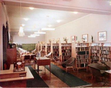 Városi könyvtár - 1970-es évek