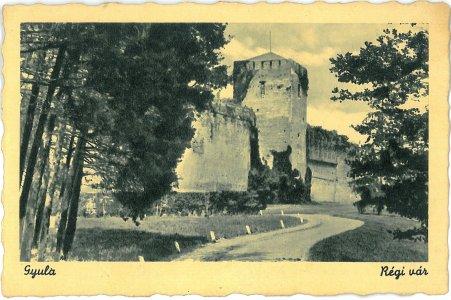 Gyulai vár - 1950-es évek eleje
