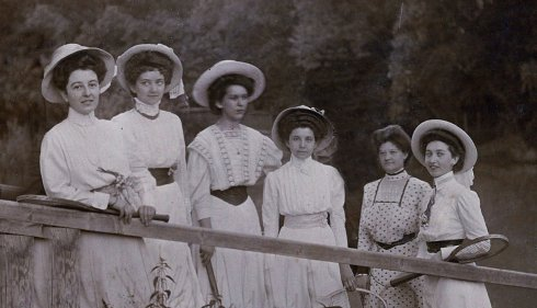 Ismeretlen családi fotó - 1909