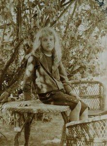 Ismeretlen kislány - 1900-as évek eleje