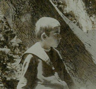 Ismeretlen fiú- 1900-as évek eleje